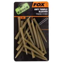 FOX Edges Anti-Tangle Sleeves x 25 Khaki