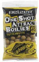 PELZER One Shot Attract Boilies Tutti Frutti 250g