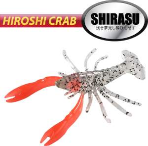 BALZER Hiroshi Crab 6cm Red Claw 5st