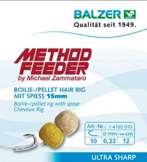 BALZER Method Feeder Rig 12 mit Speer