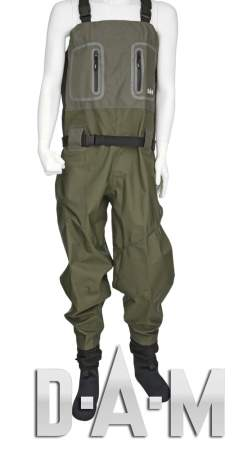 DAM Hydroforce G2 Breathable Stocking Foot Waders