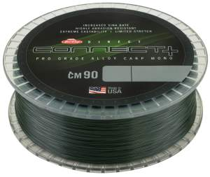 BERKLEY EConnect CM90 Weedy Green, monofile Angelschnur, mono line