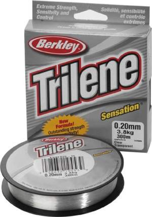 BERKLEY Trilene Sensation 0,20mm 300m clear 3,8kg