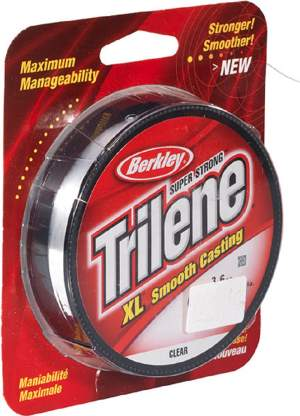 BERKLEY Trilene XL 0,22mm 270m clear, monofile Angelschnur, mono line