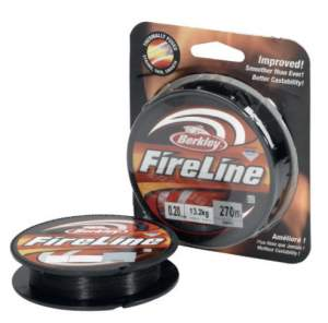 BERKLEY Fireline 270m 0,17mm smoke