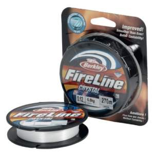 BERKLEY Fireline 2014 270m 0,20mm crystal, geflochtene Angelschnur, braided line