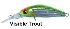 ILLEX Diving Chubby Minnow 35 SP Visible Trout