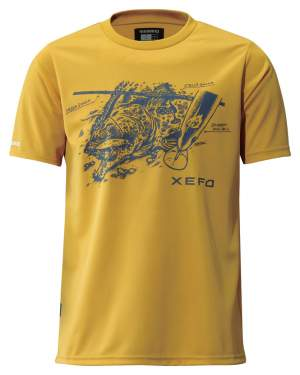 Shimano T-Shirt Gold XL