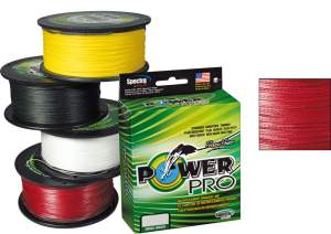 Shimano Power Pro Advantage rot, geflochtene Angelschnur, braided line