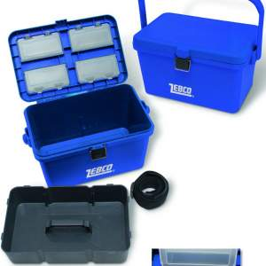 ZEBCO Tough Case Tackle Box 37cm 22cm 23cm