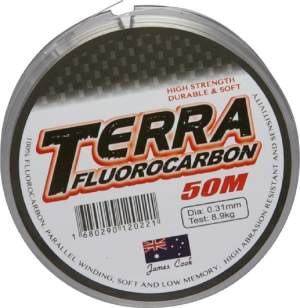 James Cook Terra fluorocarbon 0,31mm 8,9kg 50m