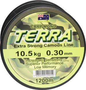 James Cook Terra Carpmono 0,30mm 10,5kg 1200m