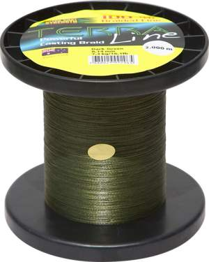 James Cook Terra Line 0,10mm 1000m dark-green 4,3kg