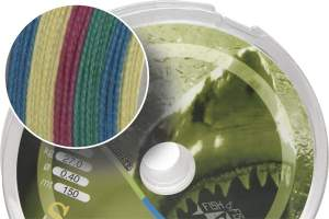 James Cook Soft Braid 150m 0,40mm multicolor