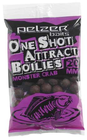 PELZER One Shot Attract Boilies Monster Crab 250g