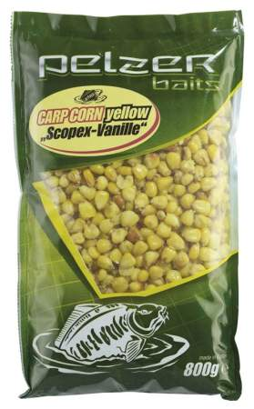 PELZER Carp Corn 800g yellow Scopex/Vanille