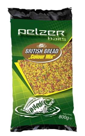 PELZER British Bread 800g Color Mix
