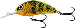SALMO Hornet 9cm Gold Fluo Perch Floating