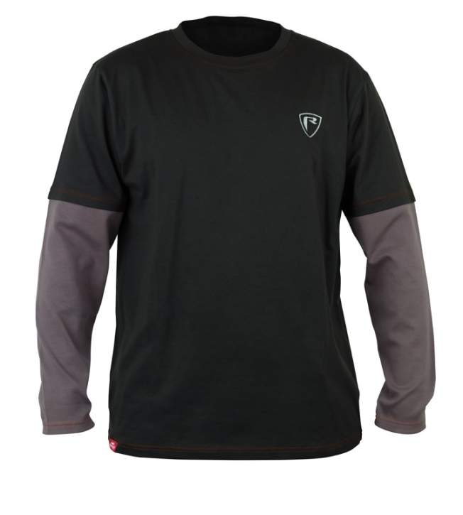 Fox Rage Grey  / Red Long Sleeve Shield T-shirt XXXL