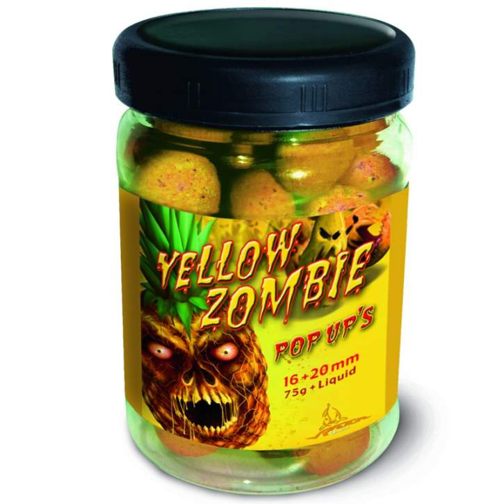 QUANTUM Yellow Zombie Pop Up's 16mm 75g