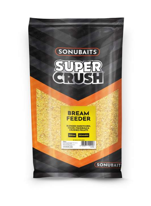 SONUBAITS Supercrush Bream Feeder 2Kg